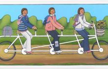Team pedaling