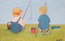 Niños pescando (réplica Torné-Esquius)