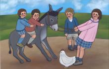 The stubborn donkey